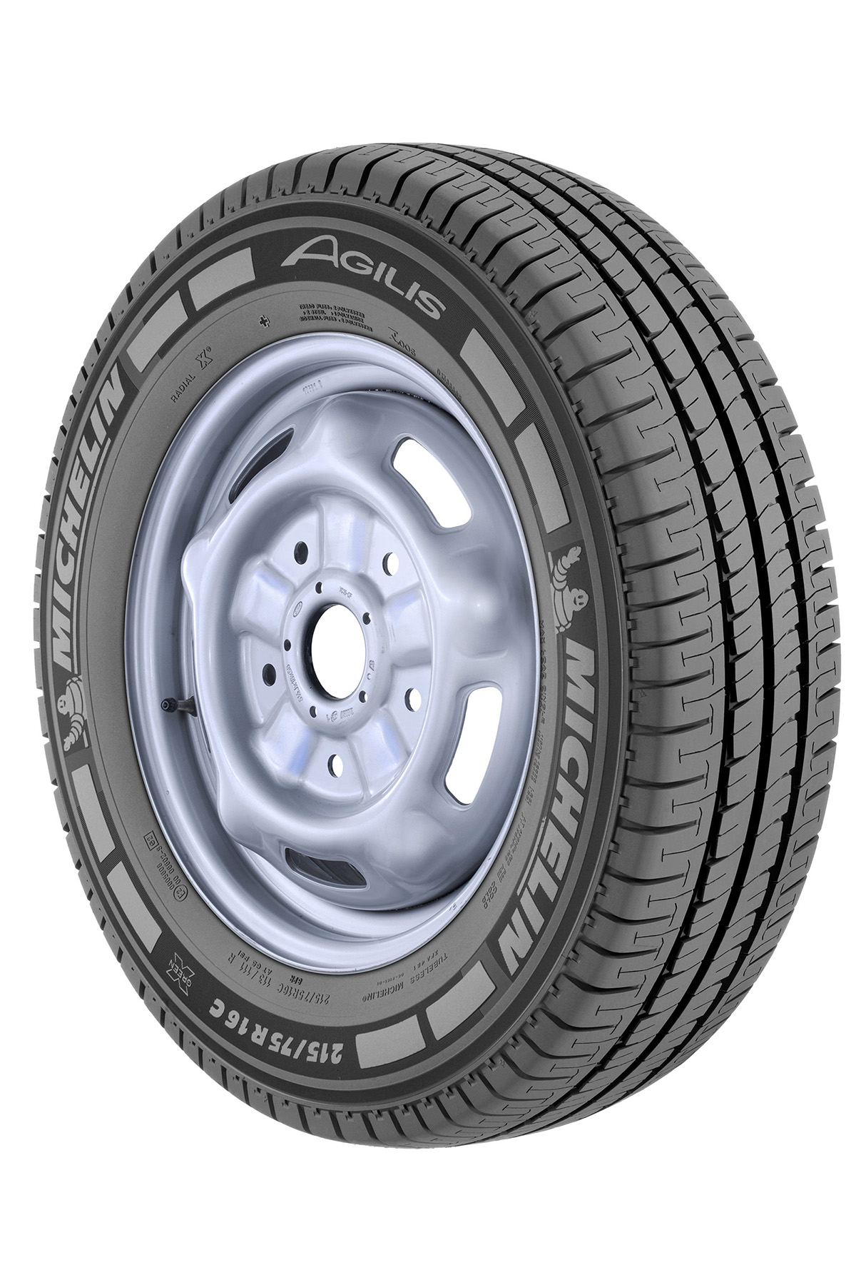 Llantas 215/75 R16  AGILIS + MICHELIN Origen china